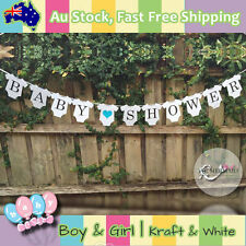 Baby Shower For Boy Banner Baby Clothes Shaped Party Decorations Card Board Cute