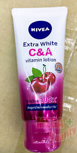 Nivea Extra White C and A Lotion Super Vitamin A 100x UV Filter 70 ml