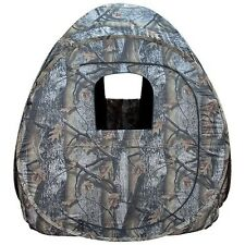 """Portable Camo Pop-Up Ground Hunting Blind 60""""x60""""x70""""! Carrying Case Deer Turkey"""