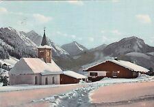 Wintersportplatz Oberjoch , Ansichtskarte, 1967 gelaufen