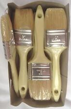 """Gel Brush 1.5"""" White Bristle Paint Brushes Glassfibre Resin GRP Laminating Brush"""