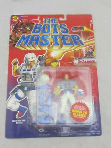 NEW - The Bots Master Ziv Zulander Action Figure Toy Biz 1994 NOC