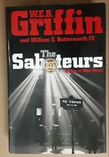 The Saboteurs  W.E.B. Griffin  1st Edition Men At War Series