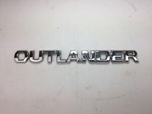 Genuine Mitsubishi Outlander Rear Lettering Badge 7415A401