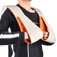 EU PLUG Electric Acupressure Back Neck Shoulder Body Massager Infrared Heated