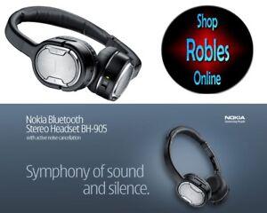 NOKIA BH-905 Bluetooth Stereo-Kopfhörer mit Bügel Original Nokia Neuwertig TOP