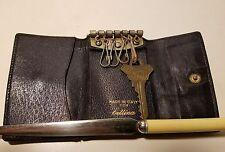Vintage Bettina Italian Leather Tri-Fold Key Holder