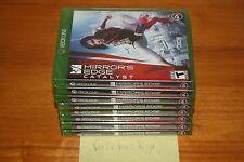Mirror's Edge: Catalyst (Microsoft Xbox One) NEW SEALED Y-FOLD W/UPC, MINT!