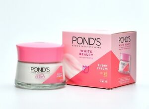 POND'S WHITE BEAUTY SUPER FACIAL CREAM SPF15 MATTE BRIGHTEN SOFT TOUCH 50G