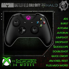 XBOX ONE S RAPID FIRE CONTROLLER - BEST MOD ON EBAY!! ***PINK GUIDE LED*** - CoD