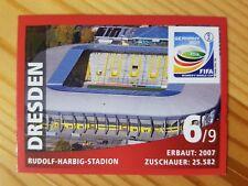 Panini SB Dresden Stadion Fussball WM 11 Nr. 6 Rarität!