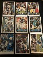 Lot Of 50 Carolina Panthers Football Cards.