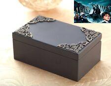 Black Vintage  Rectangle Music Box ♫ Harry Potter Hedwig's Theme Soundtrack ♫