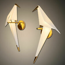 LED Paper Cranes Wall Lamp Bird Beside Wall Sconces Restaurant Light Minimalism