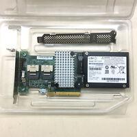IBM M5015 / LSI Megaraid 9260-8i SATA / SAS Controller RAID + BAT1S1P battery