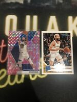 Ky Bowman Golden State Rookie! 2019-20 Panini Mosaic Pink Prizm. 2 Cards