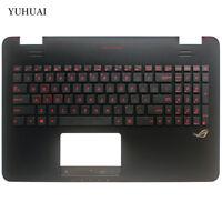 FOR Asus GL551 GL551J GL551JK GL551JM  Palmrest Case Cover & Backlit Keyboard US