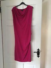 Coast Cerise Pink Dress Size 12