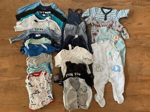 Babykleidung - Kleidungspaket - Junge - Gr. 62/68 - 23 Teile