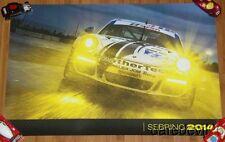 2014 Alex Job Racing #22 Porsche 911 GT America GTD Sebring IMSA TUSC poster