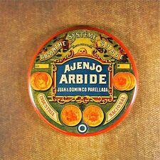 "Vintage Absinthe Label 2 1/4"" Fridge Magnet Steampunk Ajenjo Arbide Green Fairy"