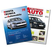 1 Manuale tecnico riparazione/manutenzione + 1 Manuale Diagnosi Auto VW Golf VI