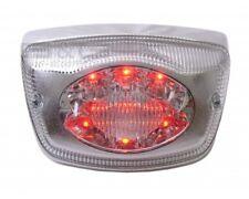 LED Rücklicht in Chrom - E-Prüfzeichen - Piaggio Vespa LX 50 2T 4T - LX 125 150