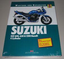 Reparaturanleitung Suzuki GSF 600 650 + 1200 Bandit 4 Zylinder Wartung Reparatur