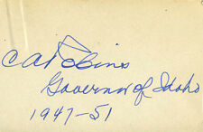 CHARLES ARMINGTON ROBINS - SIGNATURE(S)