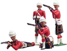 W Britain 49000 Archive Collection Cameron Highlanders Firing 54mm Soldiers