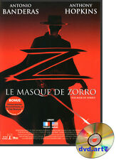 DVD : LE MASQUE DE ZORRO - Antonio Banderas - Catherine Zeta-Jones