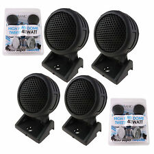 2 Pairs of  New Model 800W Total Super High Frequency Mini Car Tweeters USA Ship