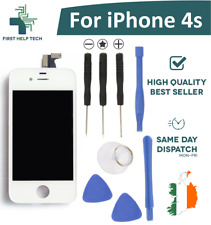 For Apple iPhone 4S LCD Display Touch Screen Digitizer Unit White New With Tools