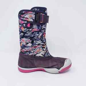 Plae Girls Size 9 Thandi WaterProof Deep Space Purple Shoes LEFT BOOT ONLY