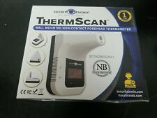 New Listingnew Security Tronix Thermscan Wall Mounted Non Contact Forehead Thermometer