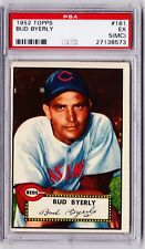 1952 Topps #161 Bud Byerly - Excellent  PSA 5