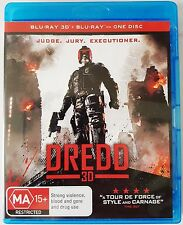 Movie / Film : DREDD Blu-Ray & Blu-Ray 3D - Judge Jury Executioner ( 2013 )