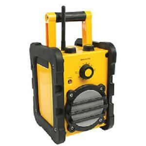 Radio Am/Fm Portable Waterproof Case Robust With Connector Auxiliary MP3