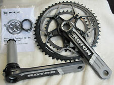 ROTOR 3D Compact 50-34T BBRight Chainset 170 mm 10 Speed