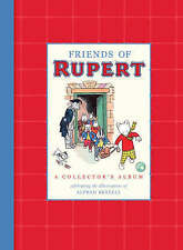 Friends of Rupert Collector's Album with Alfred Bestall illustrations ~ Hardback