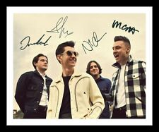 ARCTIC MONKEYS AUTOGRAPHED SIGNED & FRAMED PP POSTER PHOTO