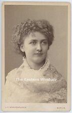 Arma Senkrah (1864-1900) American violinist. Schaarwächter 1884. violinist Liszt