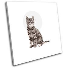 Grey Animals Modern Art Prints