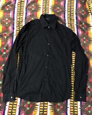 costume national homme Black Shirt 48