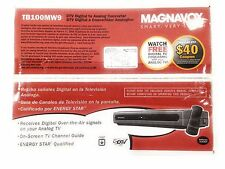 Magnavox TB100MW9 DTV Digital to Analog TV Converter with Remote