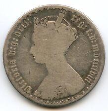 Royaume-Uni Victoria (1837-1901) Florin argent 1858 KM 746.1