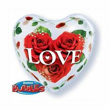 Party Supplies Love Valentines Day Love Heart Bubble Balloon