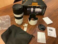 MINT Sony FE 70-200mm F2.8 OSS G Master GM Lens E-Mount