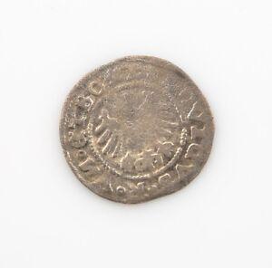 1526 German States Schweidnitz 1/2 Groschen VF Ludwig II Silver Very Fine MB#6