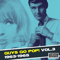 Various Artists : Guys Go Pop! 1963-1965 - Volume 3 CD (2018) ***NEW***